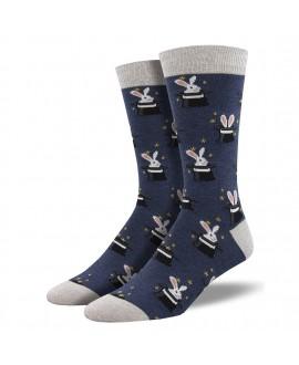 Мужские носки Socksmith «Трюки с кролями» бамбуковые