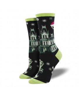 Женские носки Socksmith «Призрачное рождество»
