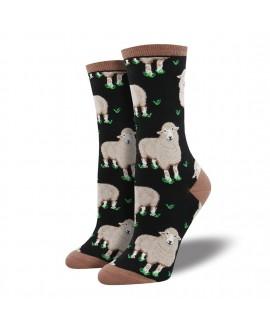 Носки Socksmith «Овечки» черные