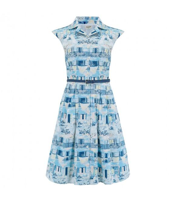 Платье Sugarhill Brighton 'Adora' с узором «Старая Гавана»