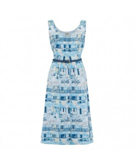 Платье Sugarhill Brighton 'Beatrice' с узором «Старая Гавана»