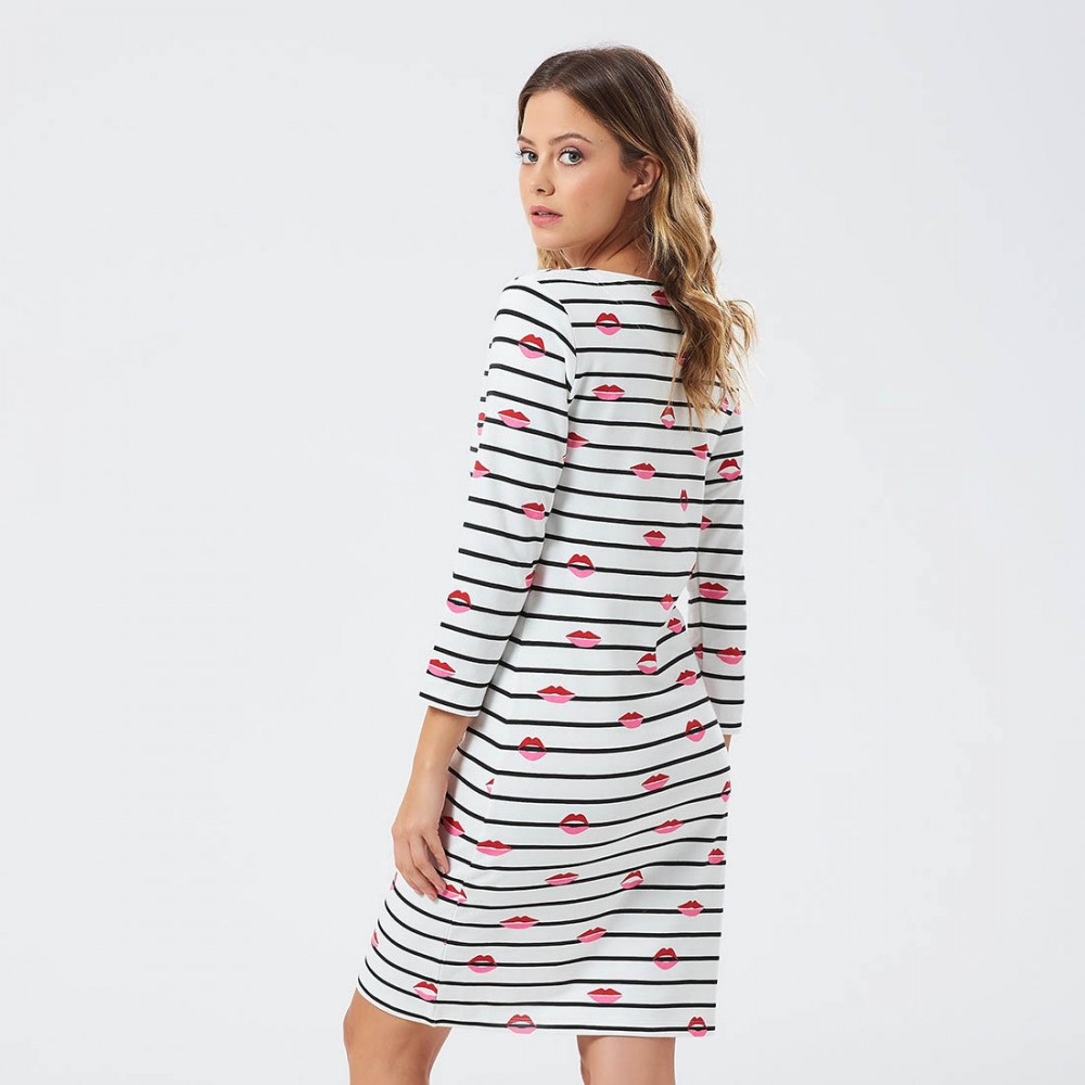 Платье Sugarhill Brighton 'Get Lippy'