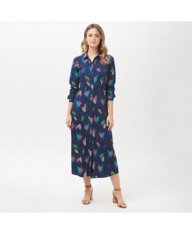 Платье Sugarhill Brighton 'Clarissa' с райскими попугаями