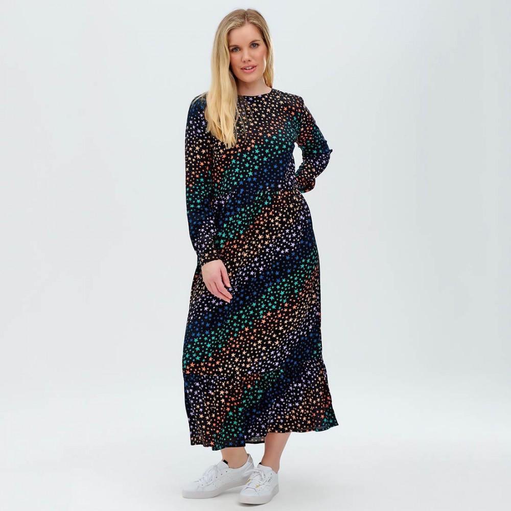 """Платье Sugarhill Brighton 'Evalina' в расцветке """"Звездные волны"""" - Фото 2"""