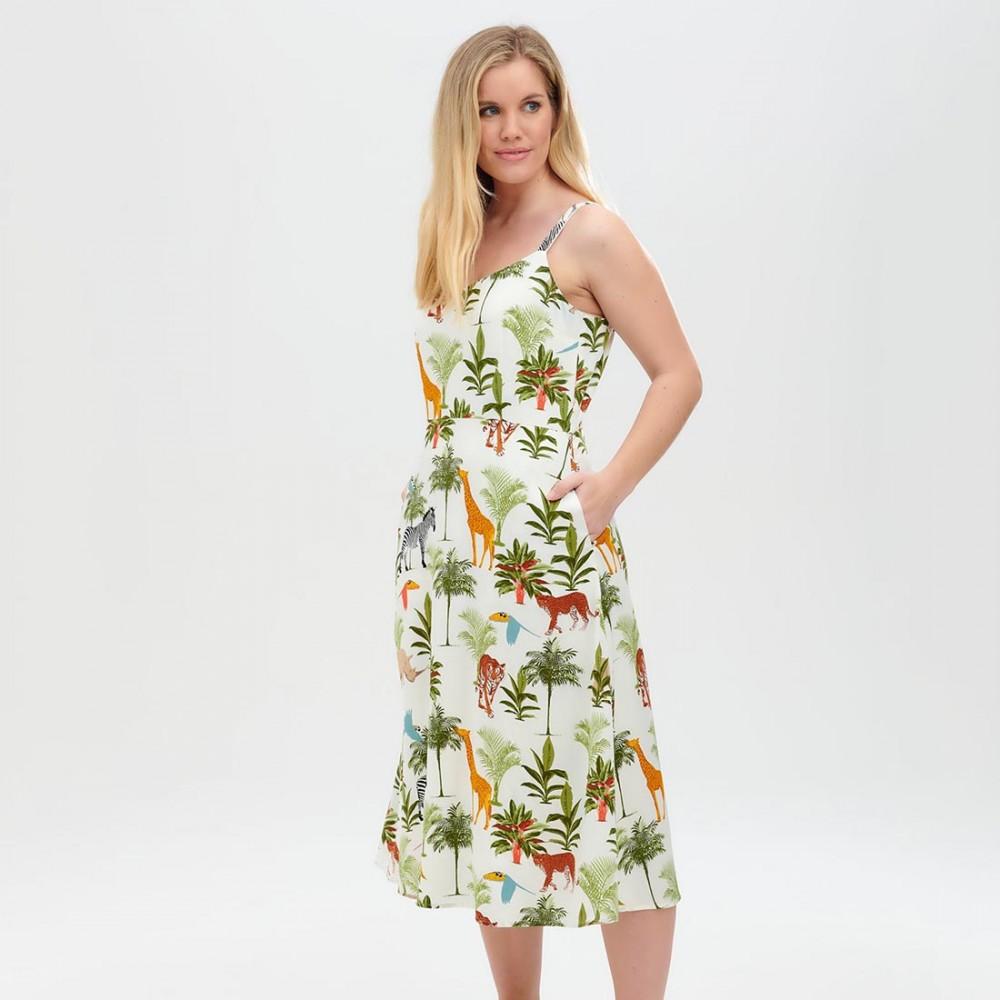 Платье Sugarhill Brighton 'Lumi Jungle Animals' - Фото 2