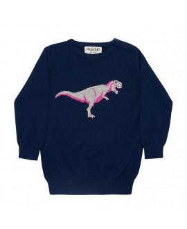 Детский джемпер Sugarhill Brighton 'Nico Mini-Mi' с динозавром
