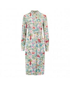 Платье Sugarhill Brighton 'Reva' с узором джунглей на рассвете