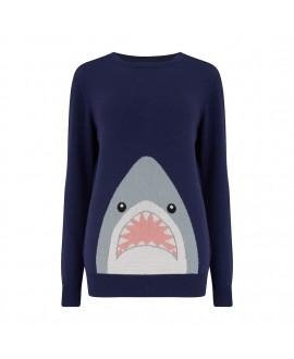 Джемпер Sugarhill Brighton Simone с акулой
