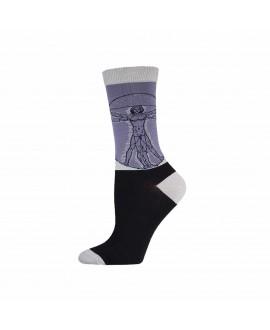 Женские носки Socksmith «Витрувианский человек» бамбуковые