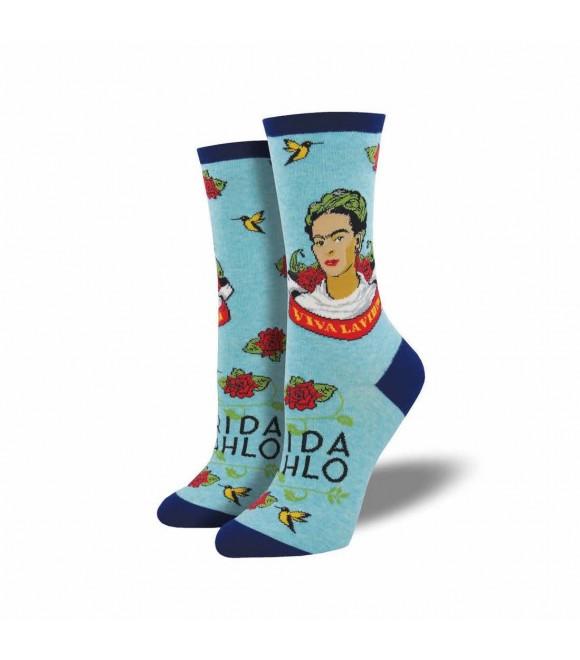 Носки Socksmith «Viva La Frida» голубые