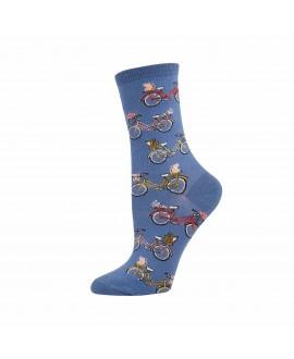 Женские носки Socksmith «Винтажные велосипеды»