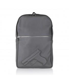 Рюкзак Vlieger & Vandam 'Guardian Angel' с пистолетом серый
