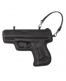 Брелок Vlieger & Vandam 'Gun' черный