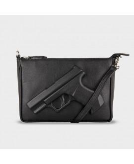 Сумочка Vlieger & Vandam 'Guardian Angel Gun' черная
