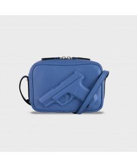 Сумка Vlieger & Vandam 'Camera Bag Gun' голубая