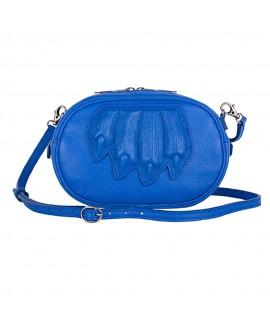 Овальная сумочка Vlieger & Vandam с когтями, кобальт
