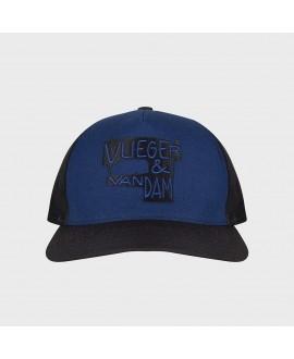 Бейсболка Vlieger & Vandam синяя