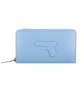 Портмоне Vlieger & Vandam 'Gun' голубое