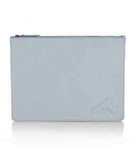 Папка для бумаг Vlieger & Vandam A4 'Gun' небесно-голубая