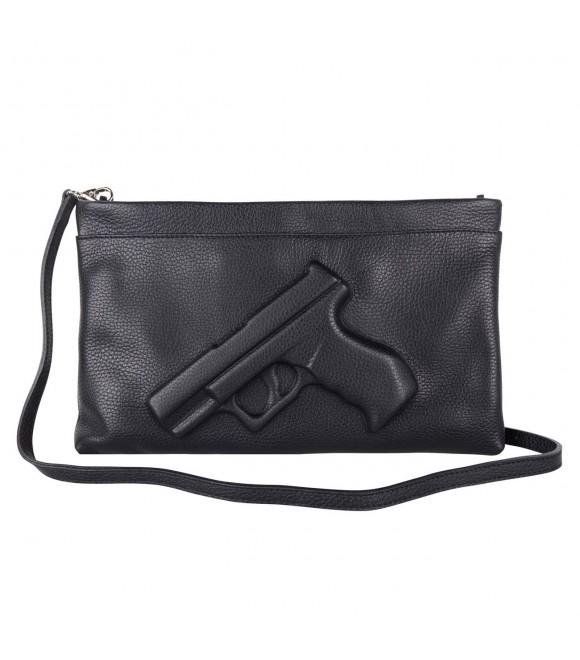 Клатч Vlieger & Vandam 'Guardian Angel Gun' черный