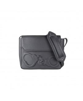 Ситибэг Vlieger & Vandam City Bag с наручниками серый