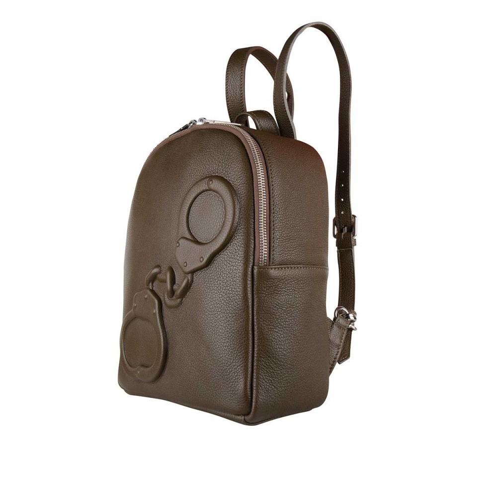 Рюкзак Vlieger & Vandam с наручниками mini в цвете мха