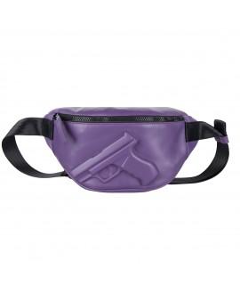 Поясная сумка Vlieger & Vandam c пистолетом фиолетовая