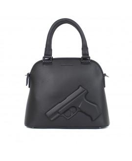 Сумка Vlieger & Vandam 'Guardian Angel Classic Small' с пистолетом черная