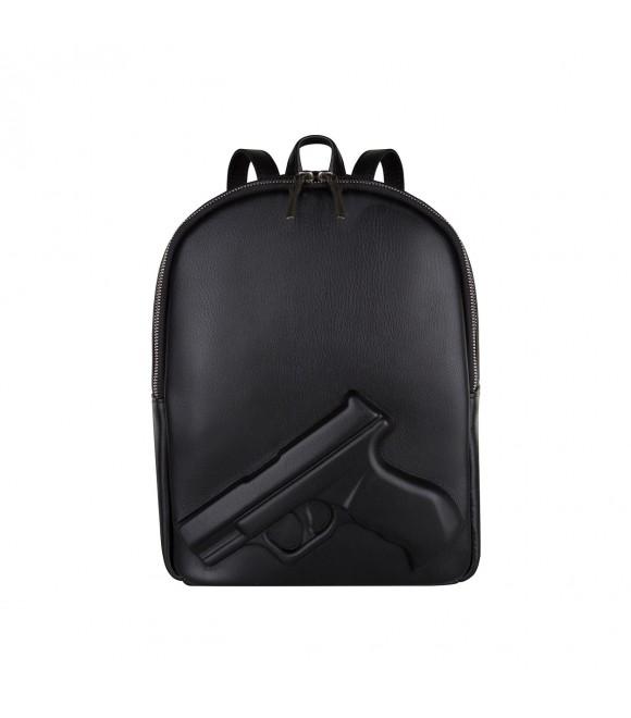 Рюкзак Vlieger & Vandam с пистолетом mini чёрный
