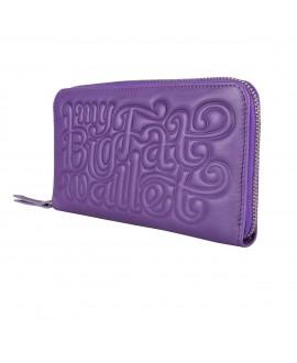 Портмоне Vlieger & Vandam 'My Big Fat Wallet' фиолетовое (НА ЗАКАЗ)