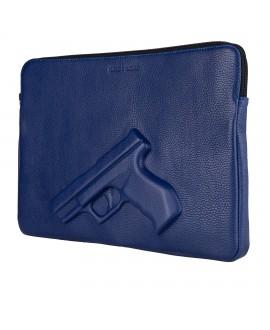 Чехол для лэптопа Vlieger & Vandam 13'' с пистолетом синий